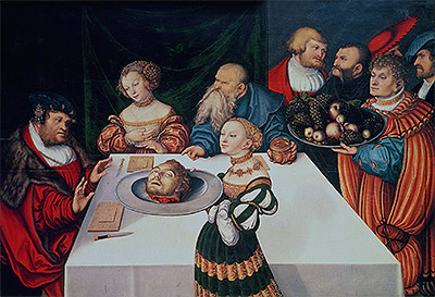 The Feast of Herod, 1531 | Lucas Cranach | Giclée Canvas Print