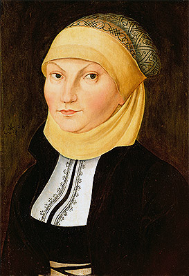 Katharina Luther, 1528 | Lucas Cranach | Painting Reproduction