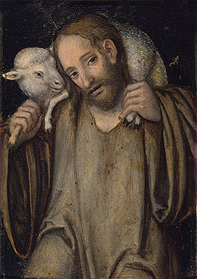 The Good Shepherd, undated | Lucas Cranach | Giclée Canvas Print