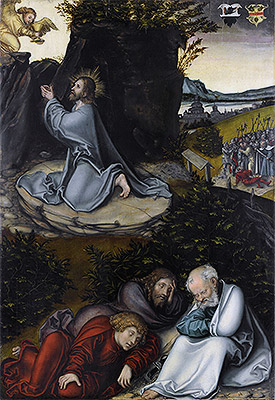 Agony in the Garden, c.1540 | Lucas Cranach | Giclée Canvas Print