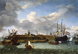 Bakhuysen | The island of Onrust, 1699 | Giclée Canvas Print