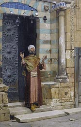 Ludwig Deutsch | At the Door of the Mosque | Giclée Canvas Print