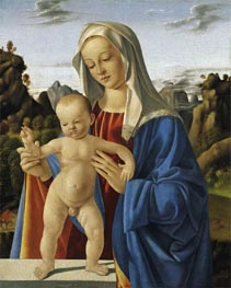 Marco Basaiti | Madonna with Child, c.1500 | Giclée Canvas Print
