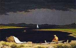 Martin Johnson Heade | Approaching Thunder Storm | Giclée Canvas Print