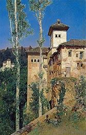 Martin Rico y Ortega | The Ladies' Tower at the Alhambra | Giclée Canvas Print