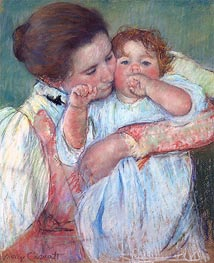 Cassatt | Mother and Child (Motherhood) | Giclée Paper Print