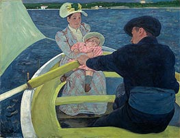 Cassatt | The Boating Party | Giclée Canvas Print