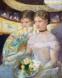 Cassatt | The Loge | Giclée Canvas Print