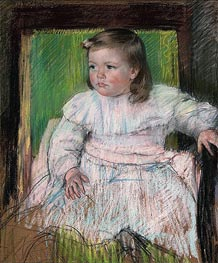 Cassatt | The Pink Sash (Ellen Mary Cassatt) | Giclée Canvas Print