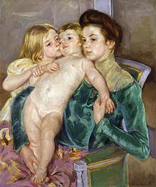 Cassatt | The Caress | Giclée Canvas Print
