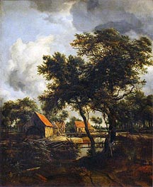 Meindert Hobbema | The Water Mill | Giclée Canvas Print