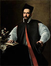 Caravaggio | Portrait of Maffeo Barberini | Giclée Canvas Print