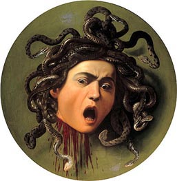 Caravaggio | Head of Medusa | Giclée Canvas Print
