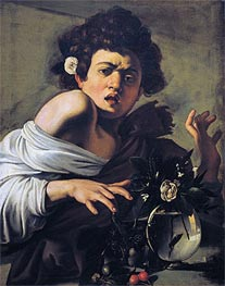 Caravaggio | Boy Bitten by a Lizard | Giclée Canvas Print