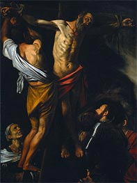 Caravaggio | The Crucifixion of Saint Andrew | Giclée Canvas Print