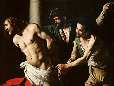 The Flagellation of Christ, c.1605/07 | Caravaggio | Giclée Canvas Print