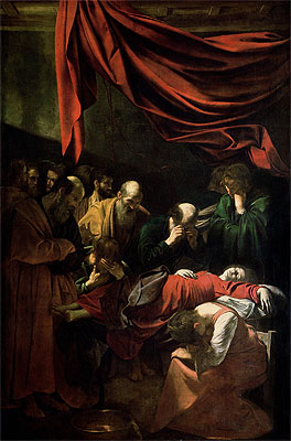 The Death of the Virgin, 1605 | Caravaggio | Giclée Canvas Print