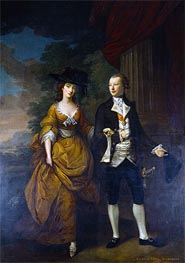 Nathaniel Hone | 1st Lord Scarsdale and His Wide, Lady Caroline Colyear | Giclée Canvas Print