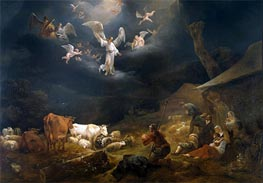 Nicolaes Berchem | The Annunciation to the Shepherds, 1649 | Giclée Canvas Print