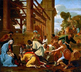 Nicolas Poussin | Adoration of the Magi | Giclée Canvas Print