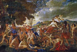 Nicolas Poussin | The Triumph of Flora | Giclée Canvas Print