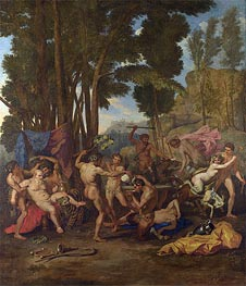 Nicolas Poussin | The Triumph of Silenus | Giclée Canvas Print