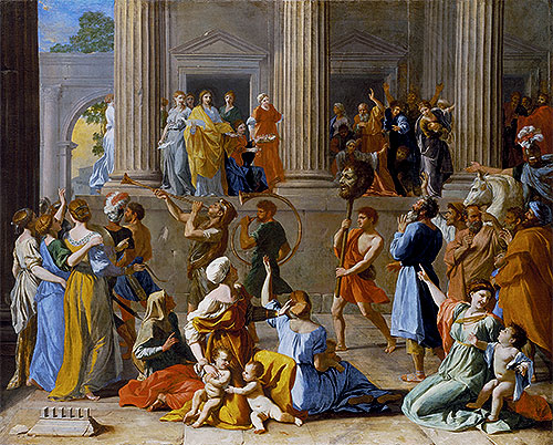 The Triumph of David, c.1628/31 | Nicolas Poussin | Giclée Canvas Print