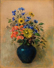 Odilon Redon | Wildflowers, c.1905 | Giclée Canvas Print