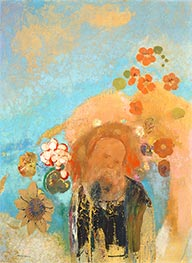 Odilon Redon | Evocation of Roussel | Giclée Canvas Print