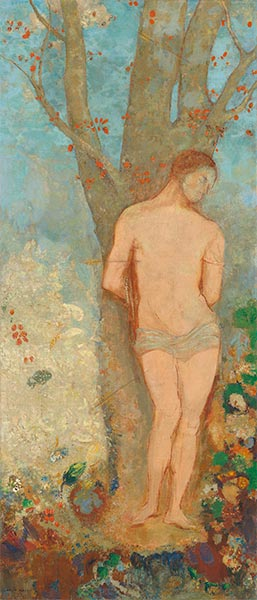 Saint Sebastian, c.1910/12 | Odilon Redon | Painting Reproduction