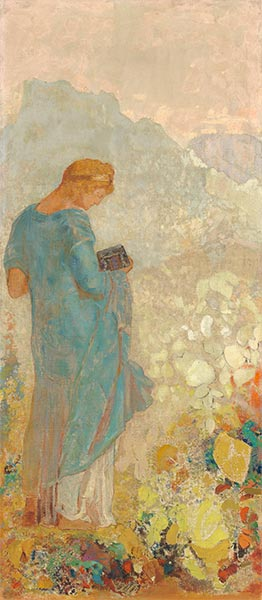 Pandora, c.1910/12 | Odilon Redon | Painting Reproduction