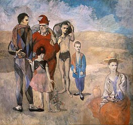 Picasso | Family of Saltimbanques, 1905 | Giclée Canvas Print