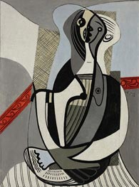 Picasso | Seated Woman, 1927 | Giclée Canvas Print