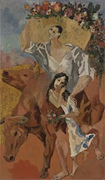 Picasso | Composition: The Peasants, 1906 | Giclée Canvas Print