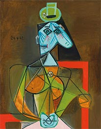 Picasso | Woman in an Armchair (Dora Maar) | Giclée Canvas Print