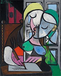 Picasso | Writing Woman (Marie-Therese) | Giclée Canvas Print
