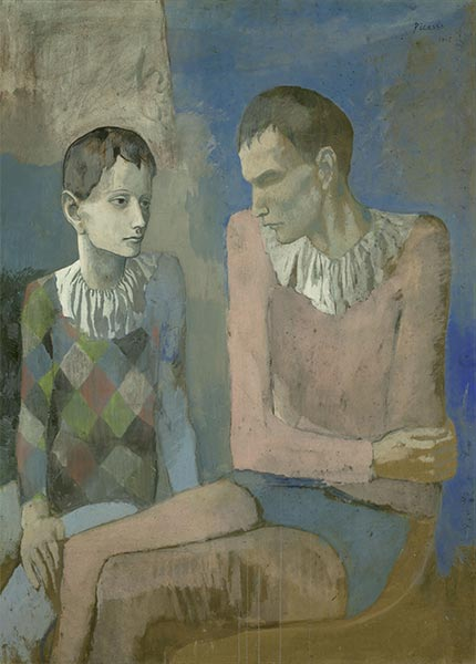 Acrobat and Young Harlequin, 1905 | Picasso | Painting Reproduction