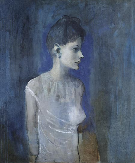 Girl in a Chemise (Madeleine), c.1904/05 | Picasso | Painting Reproduction