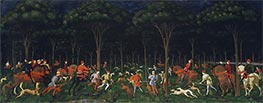 Paolo Uccello | The Hunt in the Forest, a.1470s | Giclée Canvas Print