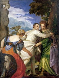 Veronese | Allegory of Virtue and Vice (Choice of Hercules), c.1580 | Giclée Canvas Print