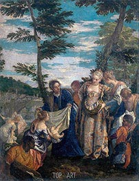 Veronese | Moses Saved from the Waters, c.1580 | Giclée Canvas Print