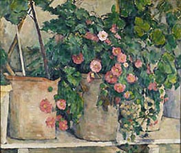 Cezanne | Still Life with Petunia, c.1879/82 | Giclée Canvas Print
