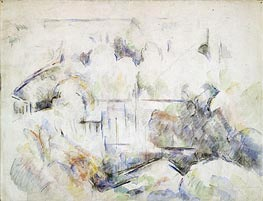 Cezanne | House Among Trees | Giclée Canvas Print