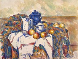 Cezanne | Still Life with Blue Pot, c.1900 | Giclée Paper Print