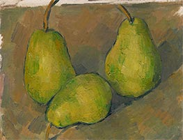 Cezanne | Three Pears, c.1878/79 | Giclée Canvas Print
