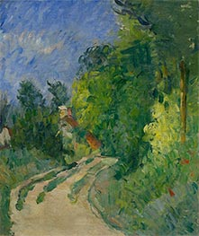 Cezanne | Bend in the Road through the Forest, c.1873/75 | Giclée Canvas Print