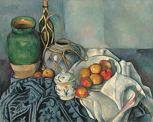 Still Life with Apples, c.1893/94   Cezanne   Painting Reproduction