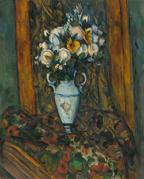 Vase of Flowers, c.1900/03 | Cezanne | Painting Reproduction