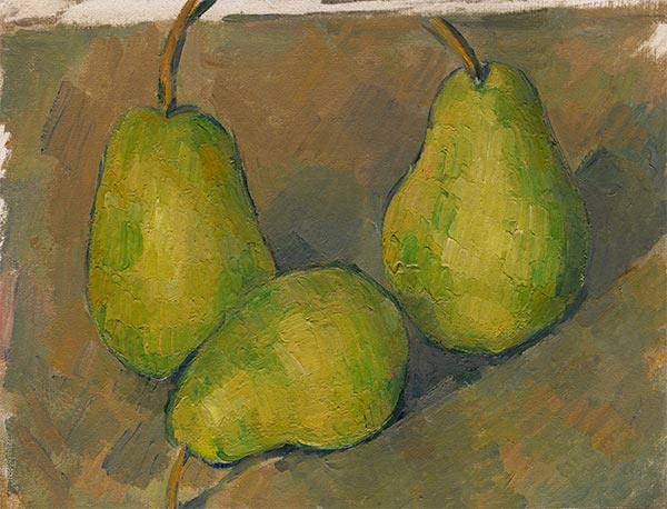 Three Pears, c.1878/79 | Cezanne | Giclée Canvas Print