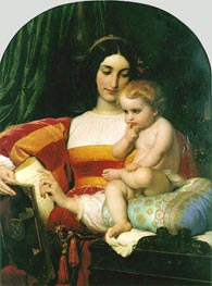 Paul Delaroche | The Childhood of Pico della Mirandola, 1842 | Giclée Canvas Print